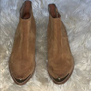 Jeffrey Campbell brown western boots
